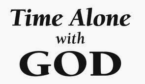 Image result for be alone with God